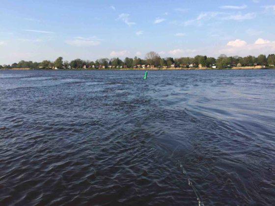 Fluss-Buhne-Deeper-Foto-Stroemung