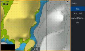 Bild (20) Test Navionics Sonarcharts Live angeln in norwegen Map ausgeblendetem Luftbild