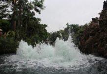 Wasserblasen-Oberfläche
