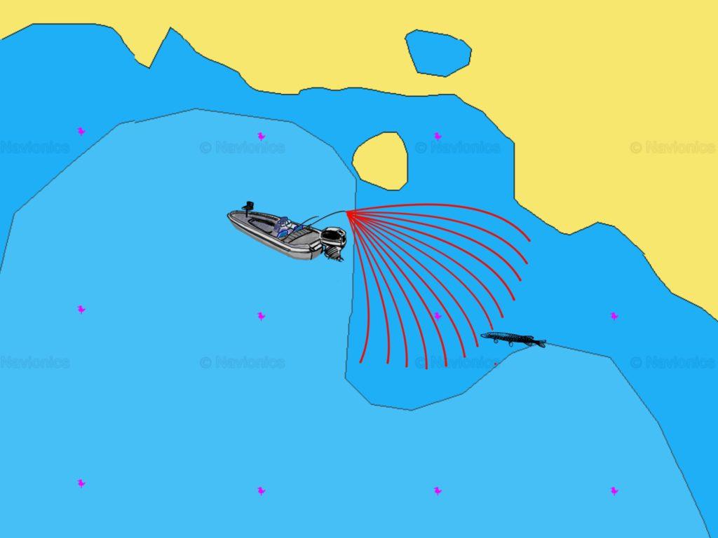 Hechte angeln 3.3 Hotspot finden Lauernder Jäger - Abwerfen des Bereiches
