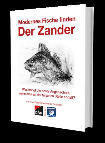 modernes Fische finden der Zander 3d cover