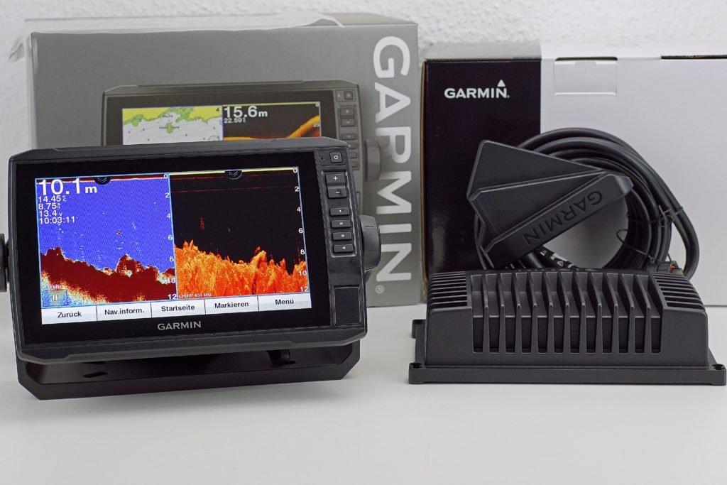 Abb. 2 Garmin LiveScope Praxistest, Echomap 92sv mit Livescope Echolot