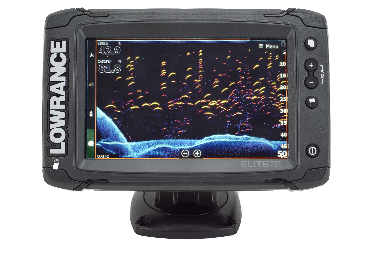Lowrance Elite-7 Ti2 GPS Echolot mit Active Imaging 3-in-1 Geber