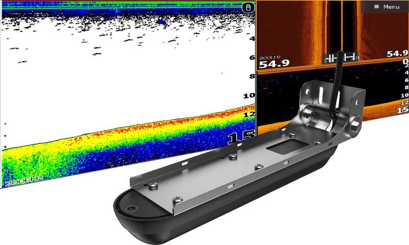 Abb.3 Lowrance Elite Ti² Echolot Active Imaging Geber 3-in-1